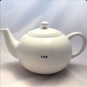 Pottery Barn 10 Cup White Coffee House Teapot.
